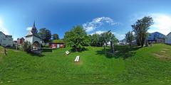 Norwegen - Sortland, Kapelle mit Friedhof 360 Grad