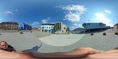 "Norwegen - Sortland (""Die blaue Stadt""), Georg A. Ellingsen-Platz 360 Grad"