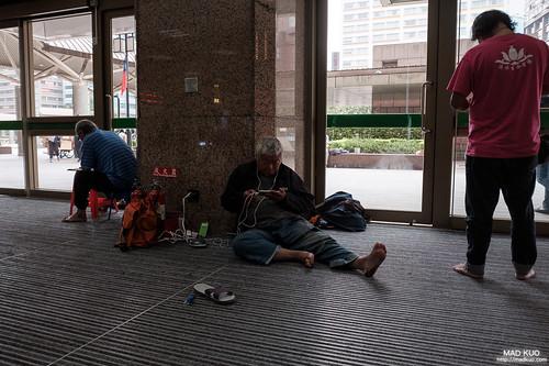台北車站街友觀察
