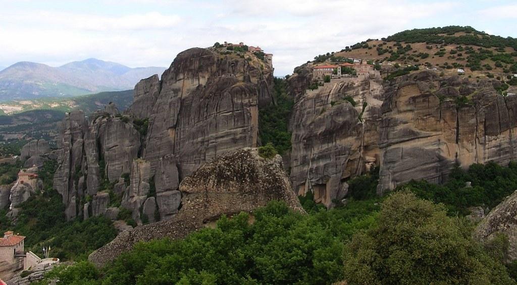 Grecia Meteora Monasterio de Varlaam y de Gran Meteoro 52