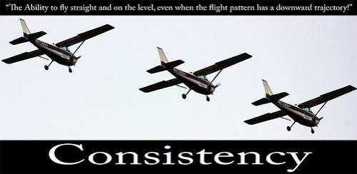 Consistency: a Motivational Poster