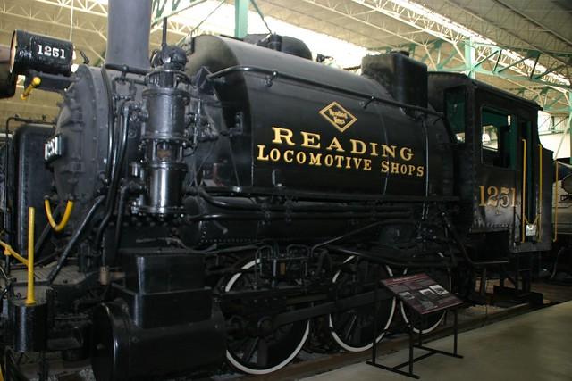 Train Museum - Steam engine