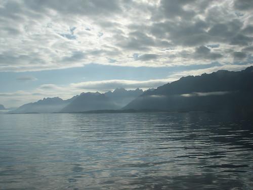 Lofotveggen from the sea by little_frank