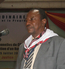 Alpha Conde is the newly-elected president of the West African state of Guinea. The country gained independence from France in 1958.