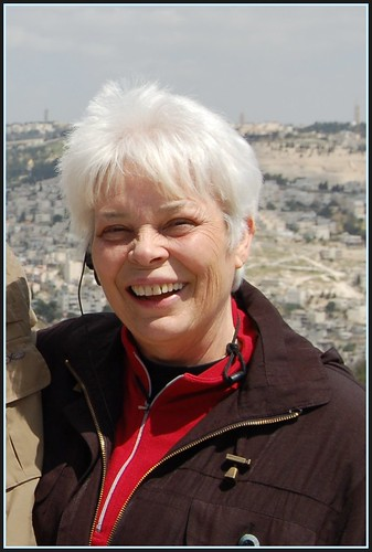 Pat McDonald, Overlooking Jerusalem, Gallicantu Area