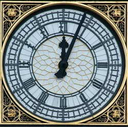 Parliament Clock from Flickr via Wylio