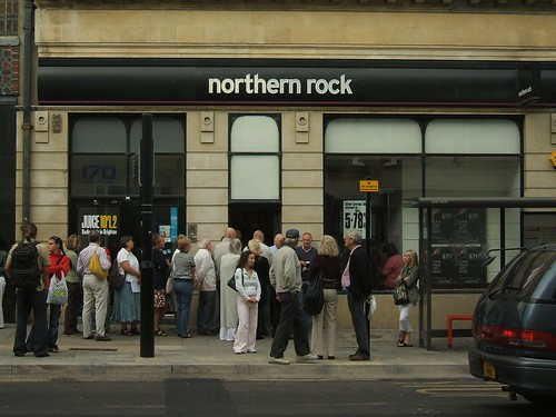 Northern Rock Queue