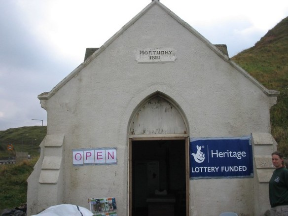 Saltburn Mortuary Heritage Open Day