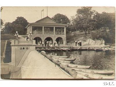 Dellwood Park Boat House The Pond Is Long Gone We Used