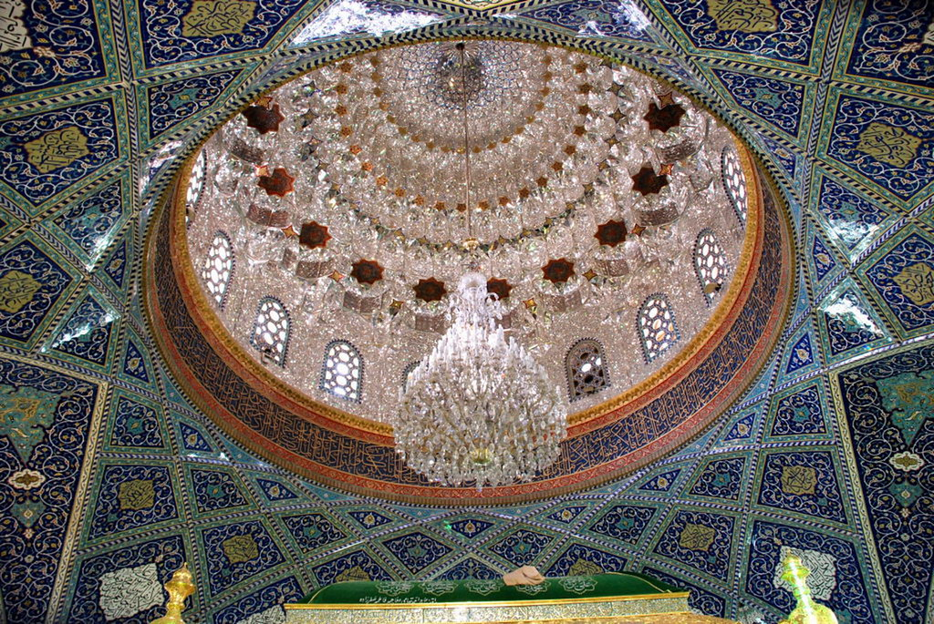 Siria Damasco Interior Mezquita Sayyidah Ruqayya Roqayya Chiita 21