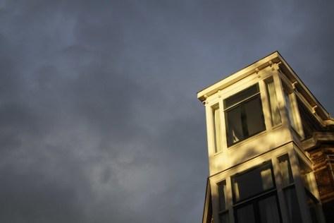 House in sunlight