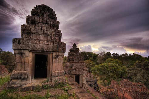 Temple in Angkor Vat