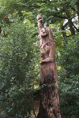 CALDERSTONES PARK~LADY of the FOREST.