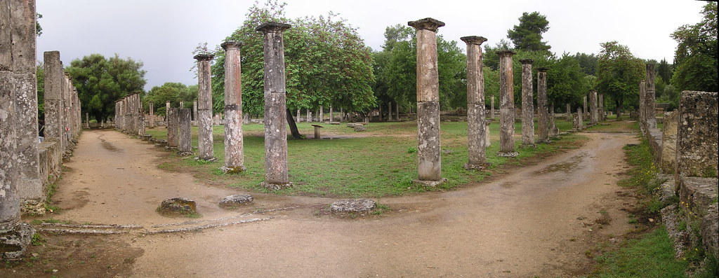 Palestra Gimnasio Olimpia Grecia 49