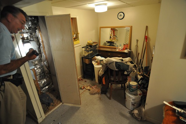 Pre-closing: basement