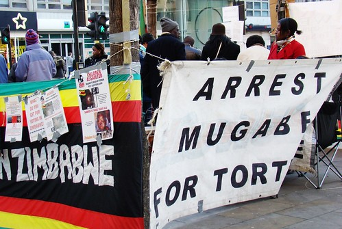 Arrest Mugabe for Torture by helen.2006