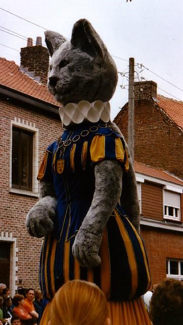 Kattenstoet - Cat mannequin