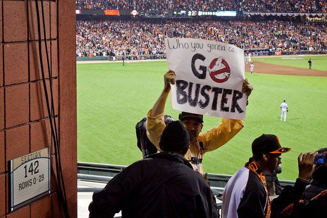 Who you gonna call? Go Buster