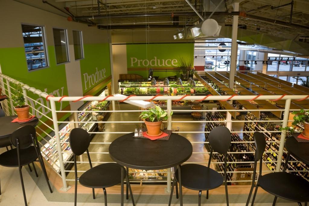 Grocery Store Design Supermarket Eating Area Market Int