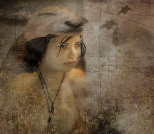 Maria facing destiny by CapCat Ragu