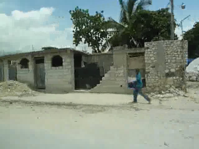 Video: Debris in Port-au-Prince