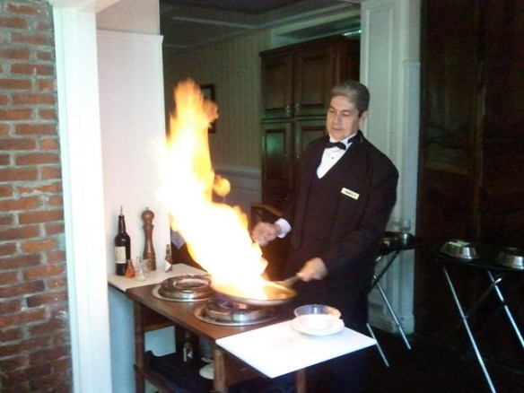 Bananas Foster at Brennan's