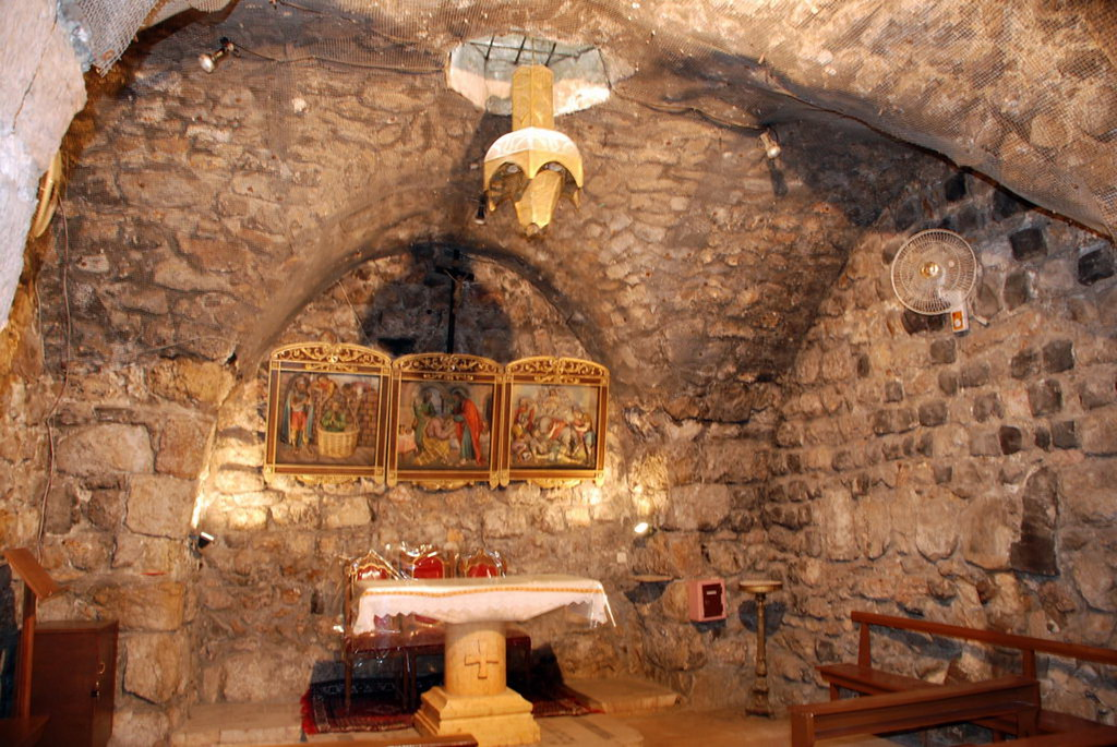 Siria Damasco Iglesia de San Ananias 06