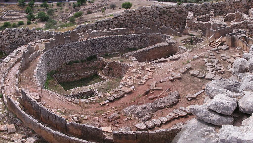Grecia Micenas Círculo funerario A  05