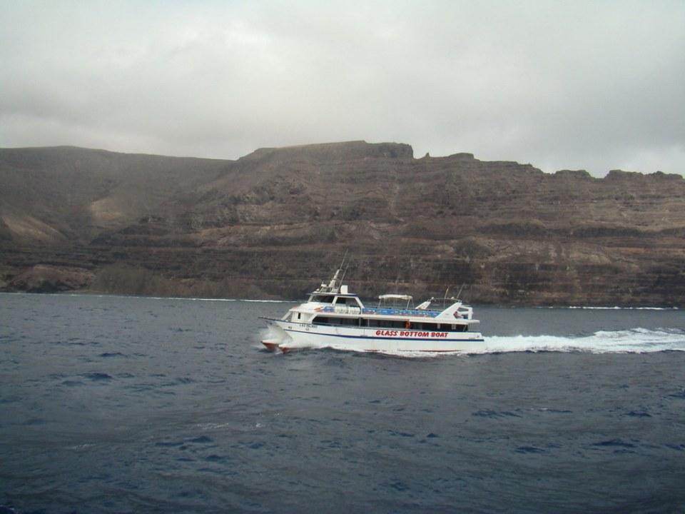 Punta de Fariones travesia desde Orzola a isla de La Graciosa 01