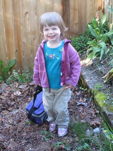 Ellie's First Day of School