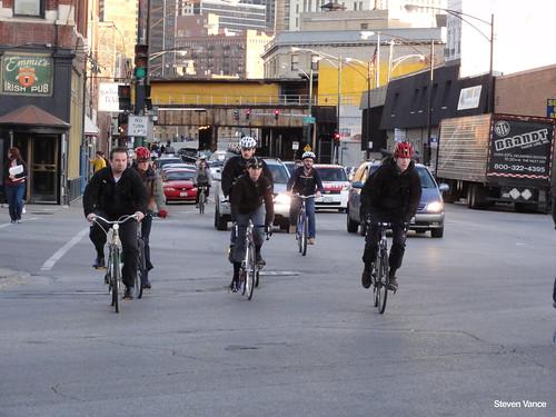 Biking at Grand/Halsted/Milwaukee (4 of 4)