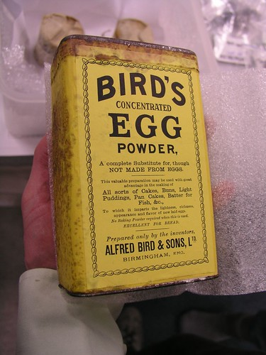 bird's egg powder
