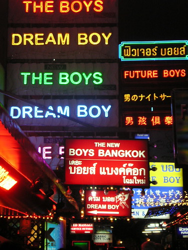 """boy alley"" - patpong, bangkok"
