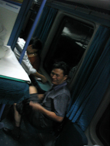 Sleeper train from Nanjing to Xi'an