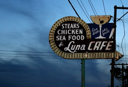 The Luna Cafe, Route 66, Mitchell, IL. Photo copyright Jen Baker/Liberty Images; all rights reserved.