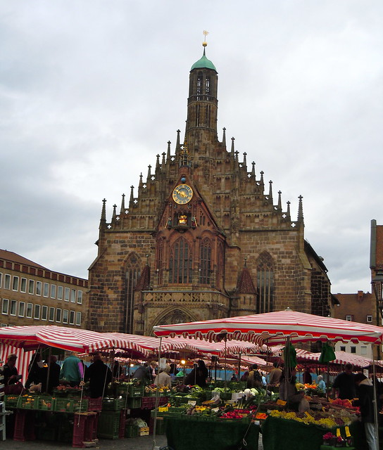 Hauptmarkt and Frauenkirche