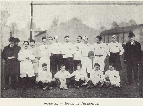 """Rugby-Pioneers: Olympique, """"forgotten team"""", 1898"""