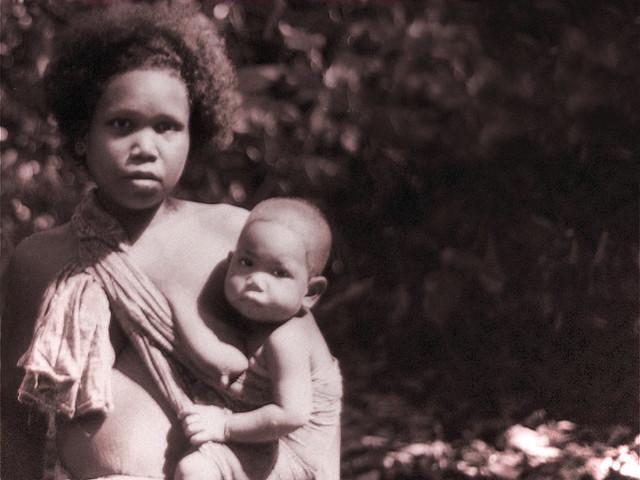 Batek tribe living in the oldest rainforest