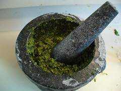 New mortar & pestle!