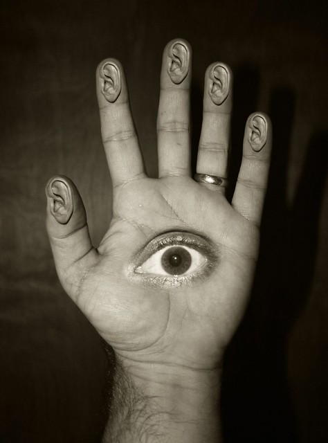 Day 302: My Hand Observes