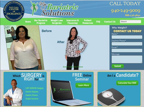 Dallas weight loss surgery center home page