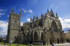 Exeter Cathedral timelapse