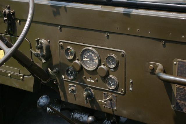 Jeep M38a1 Dash Gauges