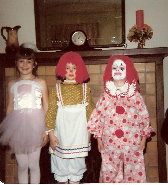 Lorin, Cara, me, Halloween 1978