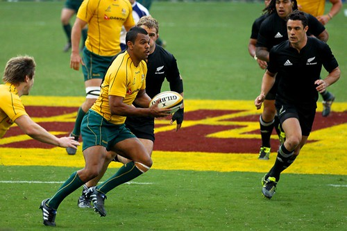 Kurtley Beale for the Wallabies