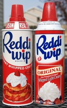 Reddi Wip, Early 1960's & 2001