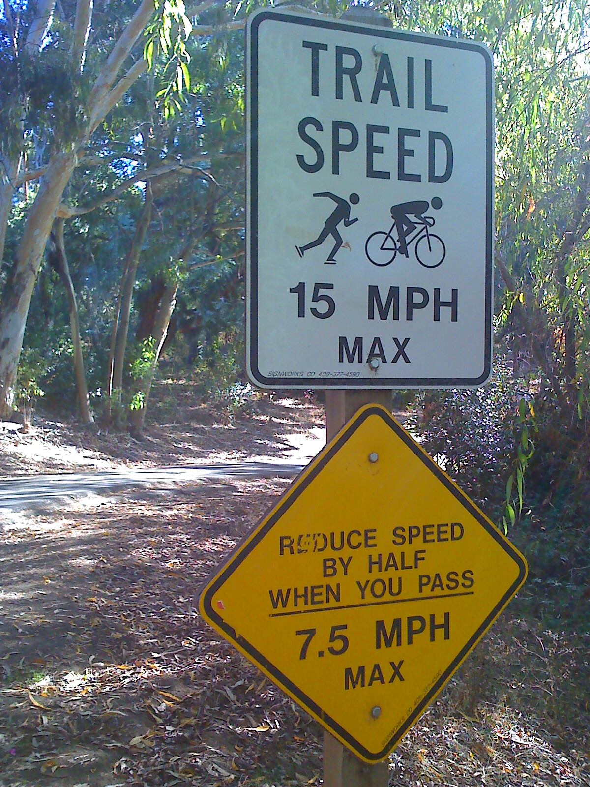 Trail speed