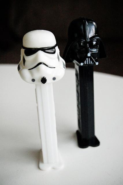 Darth and Trooper Pez