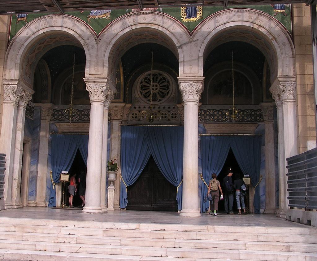 Grecia Atenas Catedral de la Anunciación de Santa María 02