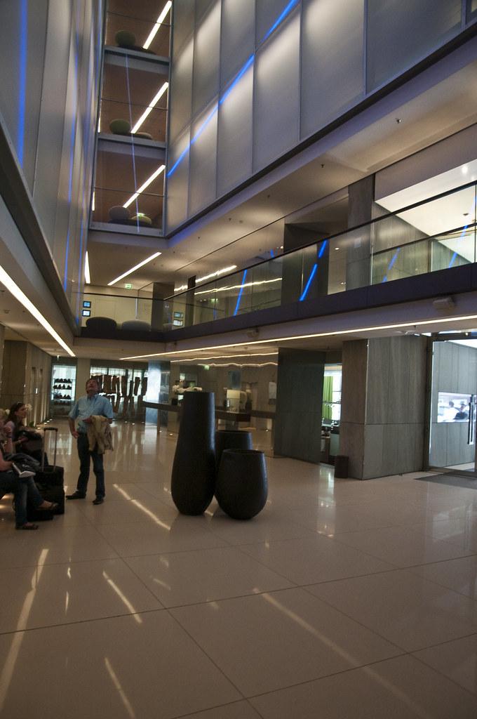SIDE Design Hotel Lobby